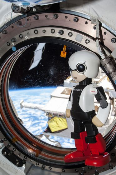KIROBO at ISS 03