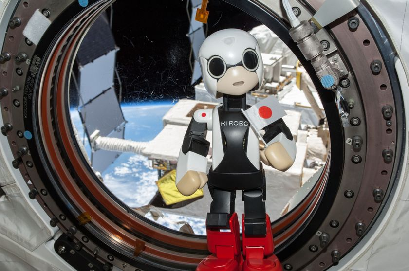 KIROBO at ISS 02