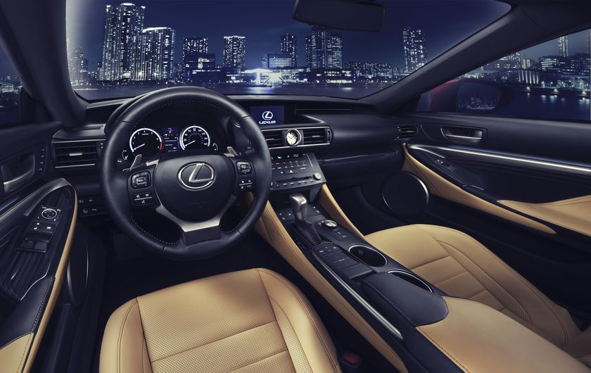 Lexus RC_Interior