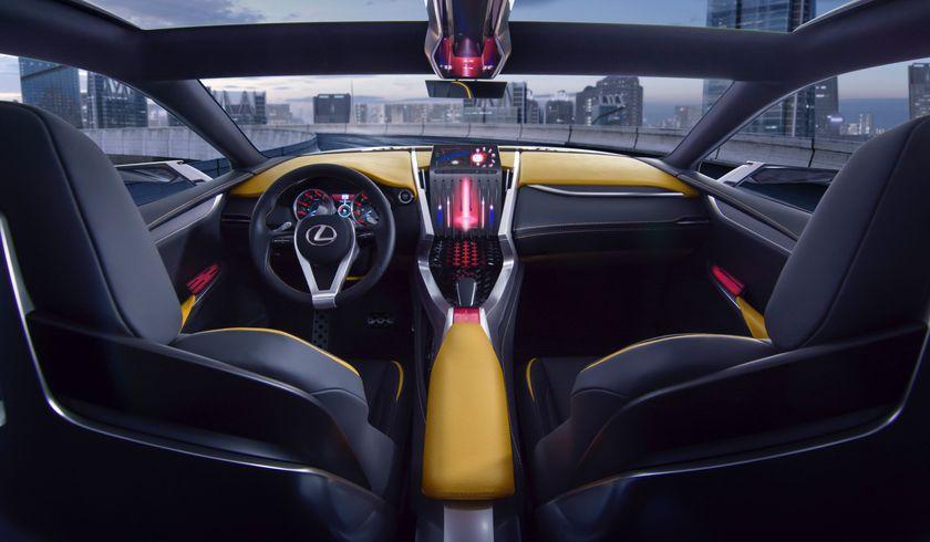Lexus LF NX concept 005