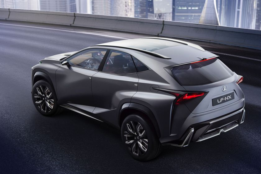 Lexus LF NX concept 003