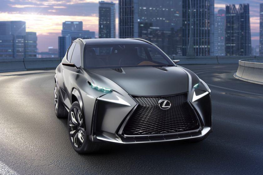 Lexus LF NX concept 002