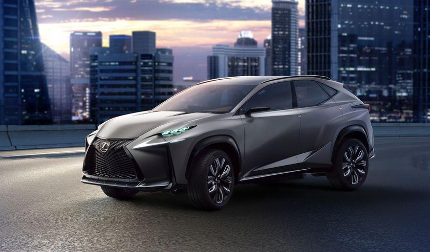 Lexus LF NX concept 001