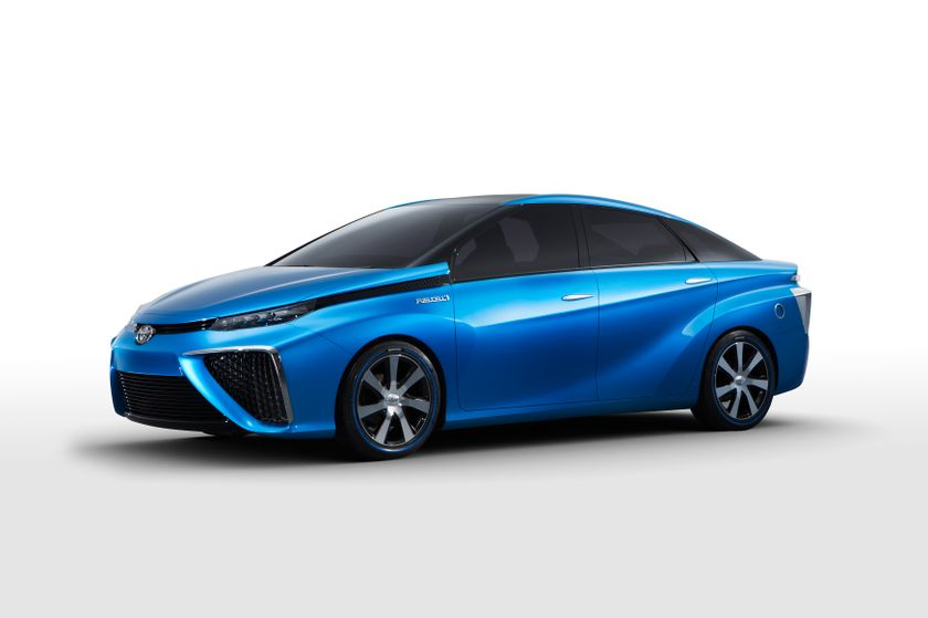 2013 Tokyo Motor Show Toyota Fuel Cell Vehicle Concept 005