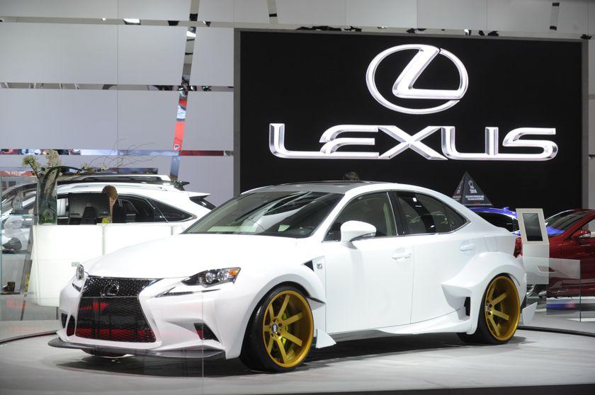 Montreal Auto Show Lexus5