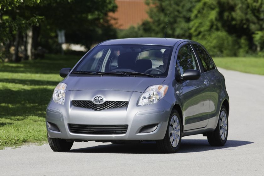 the 2011 toyota yaris hatchback packs european styling. Black Bedroom Furniture Sets. Home Design Ideas