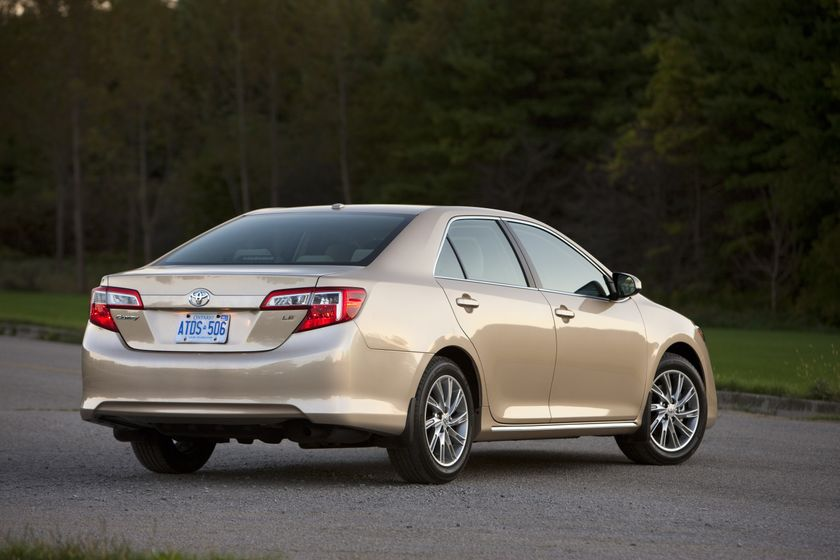 2012 Camry LE 17
