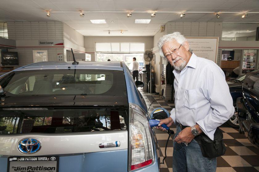 2012 Prius Plug-In Hybrid 7