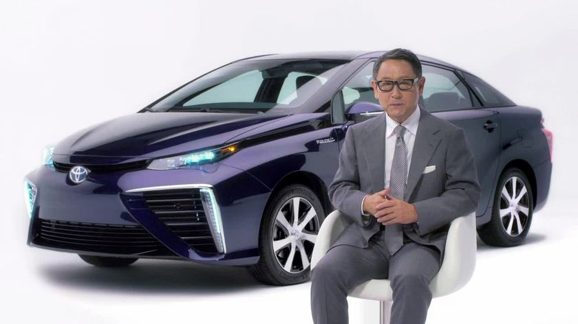 Fuel Cell Vehicle_Mirai