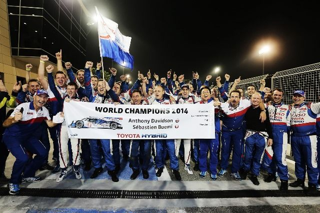 Toyota Racing - World Champions 2014