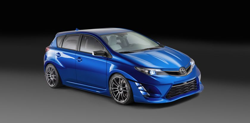 Scion iM Concept high wide