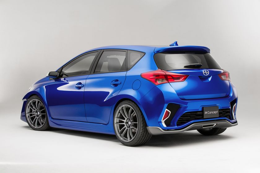 Scion iM Concept Rear 3-4