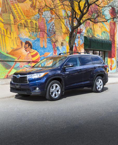 Hybrid Toyota Highlander: Toyota Canada