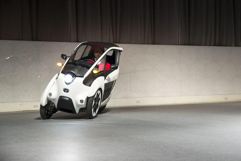 Toyota i-ROAD 3