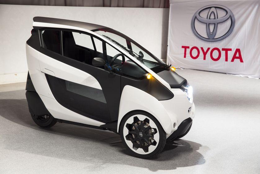 Toyota i-ROAD 8