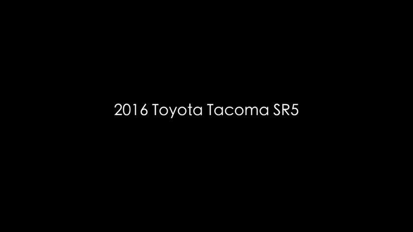 2016 Tacoma SR5