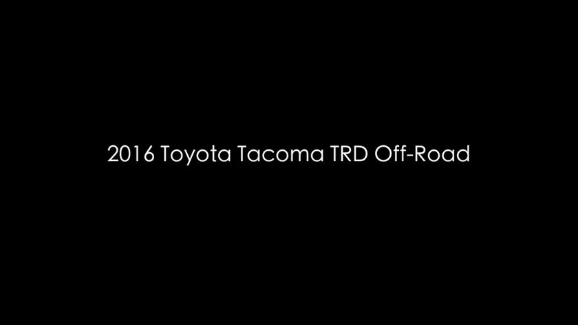 2016 Tacoma TRD Off-Road