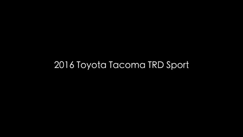 2016 Tacoma TRD Sport