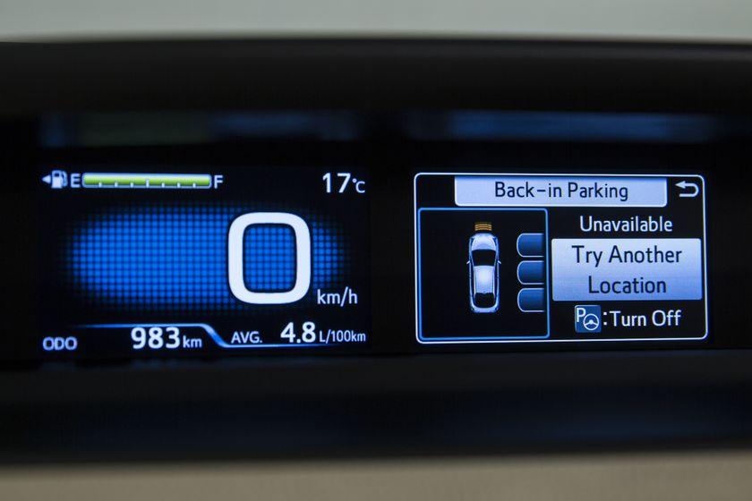 2016-2017 Toyota Prius Technology 18