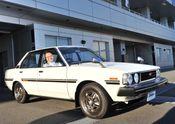 Akio_Toyoda_Toyota_Corolla_1966-2016