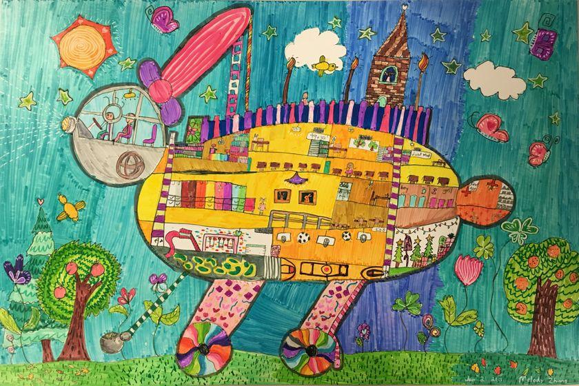 Melody's Bunny Car