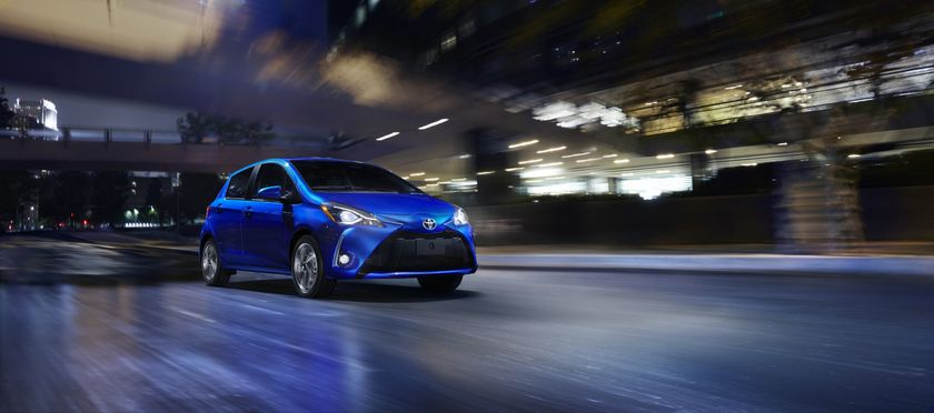 2018 Toyota Yaris  Hatchback 01