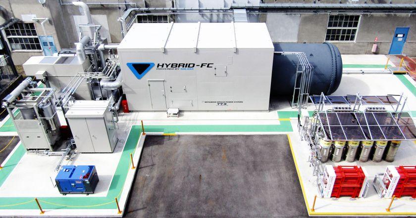 Hybrid Power Generation System at Motomachi Plant
