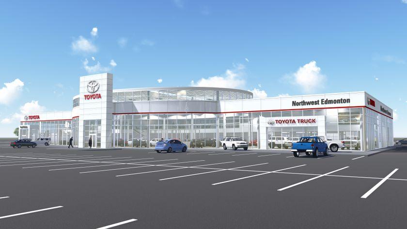 Toyota Northwest Edmonton - New Rendering