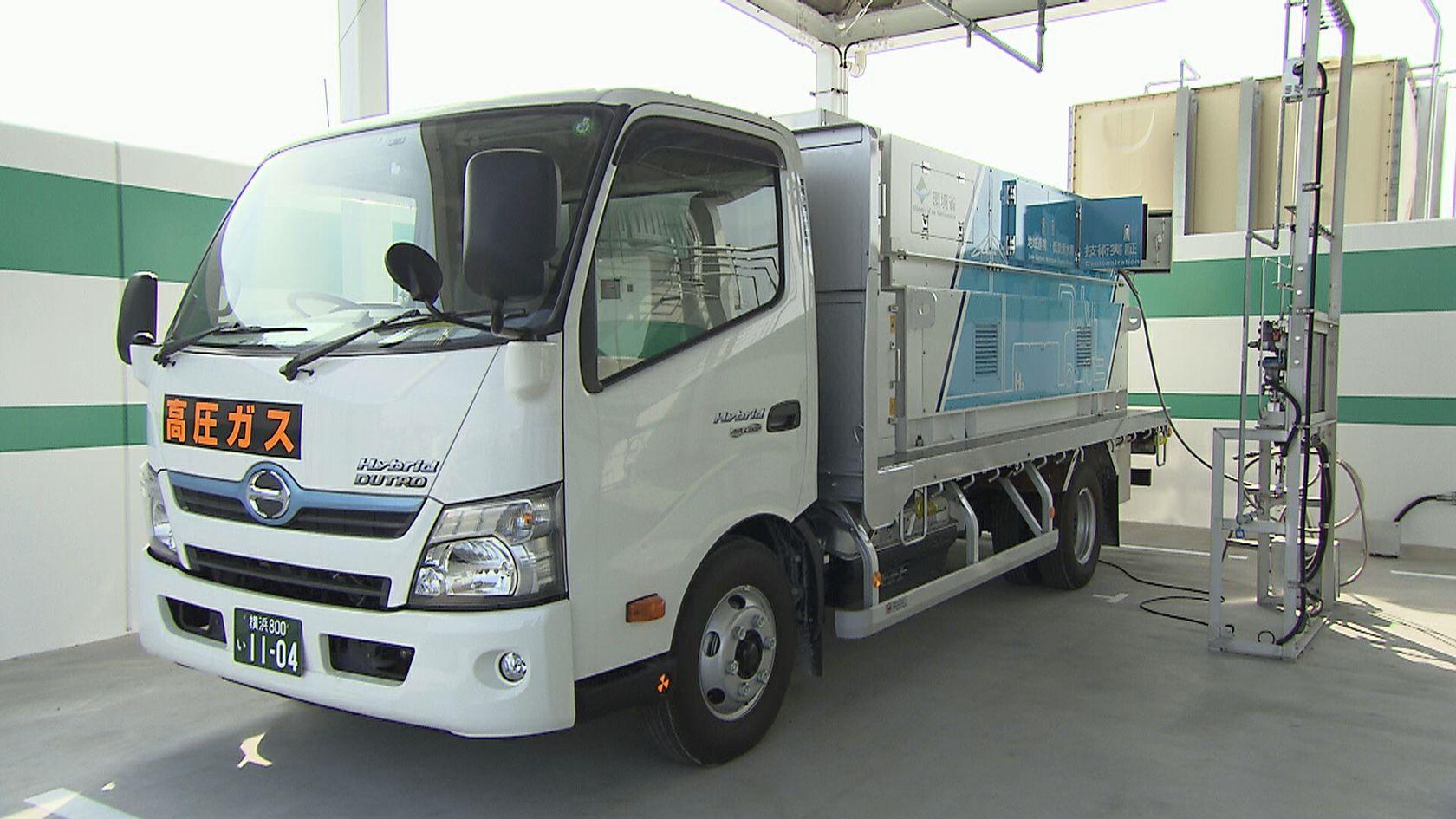 Hydrogen fueling truck