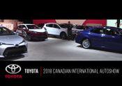 2018 Toyota Autoshow B-ROLL