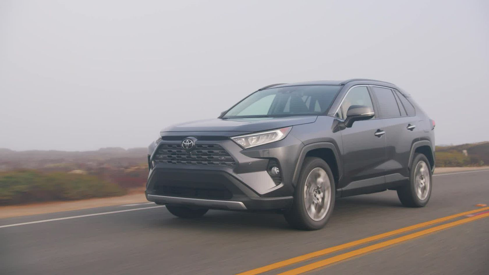 2019 Toyota RAV4 Limited FWD Magnetic Grey Metallic B-roll