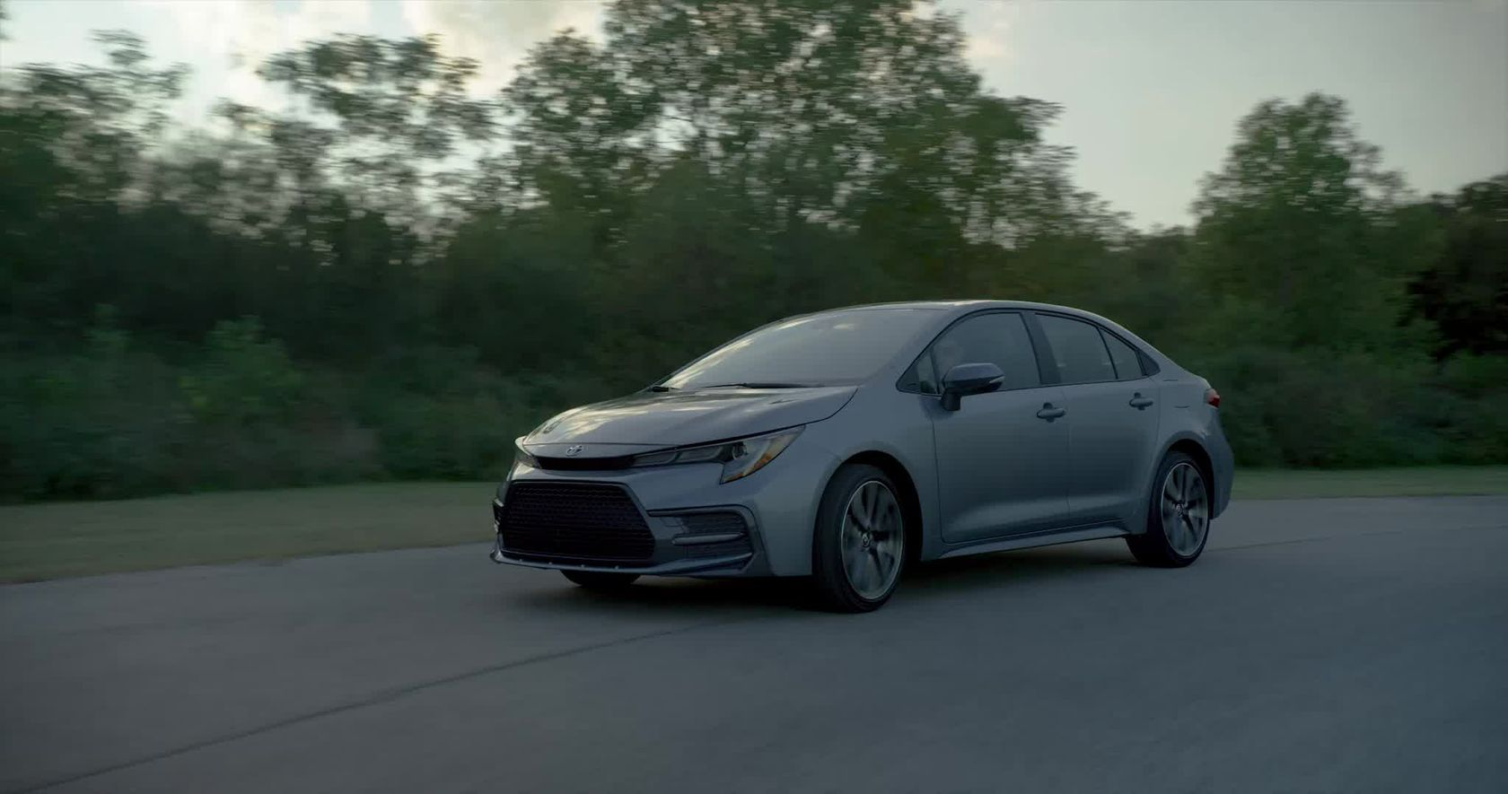 2020 Toyota Corolla Sedan B-roll