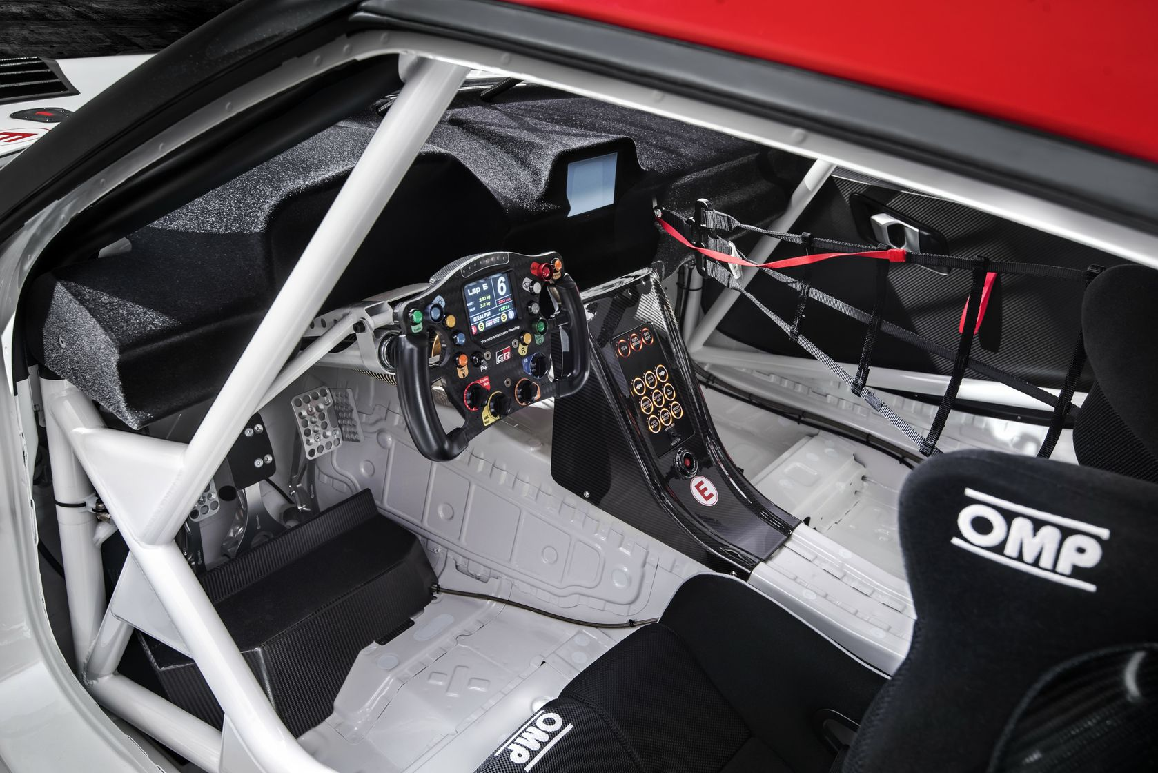 GR Supra Racing Concept - Interior Details - 08