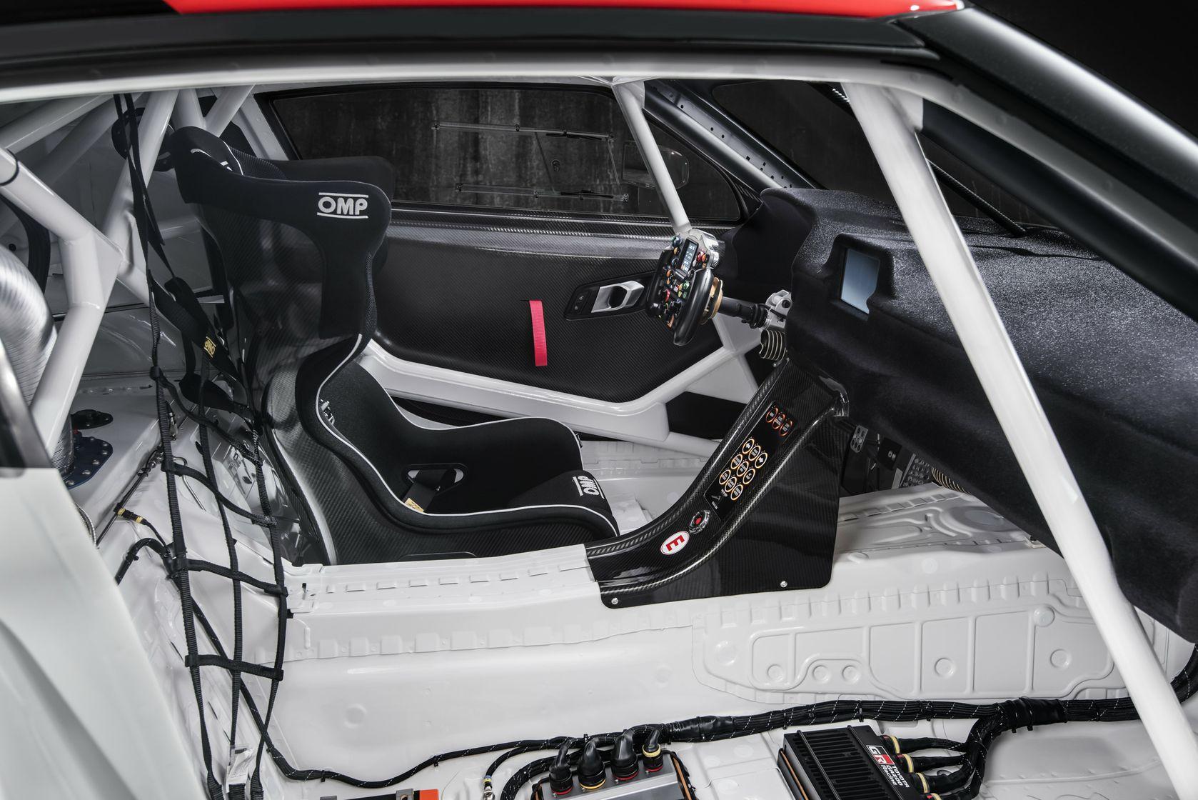 GR Supra Racing Concept - Interior Details - 09
