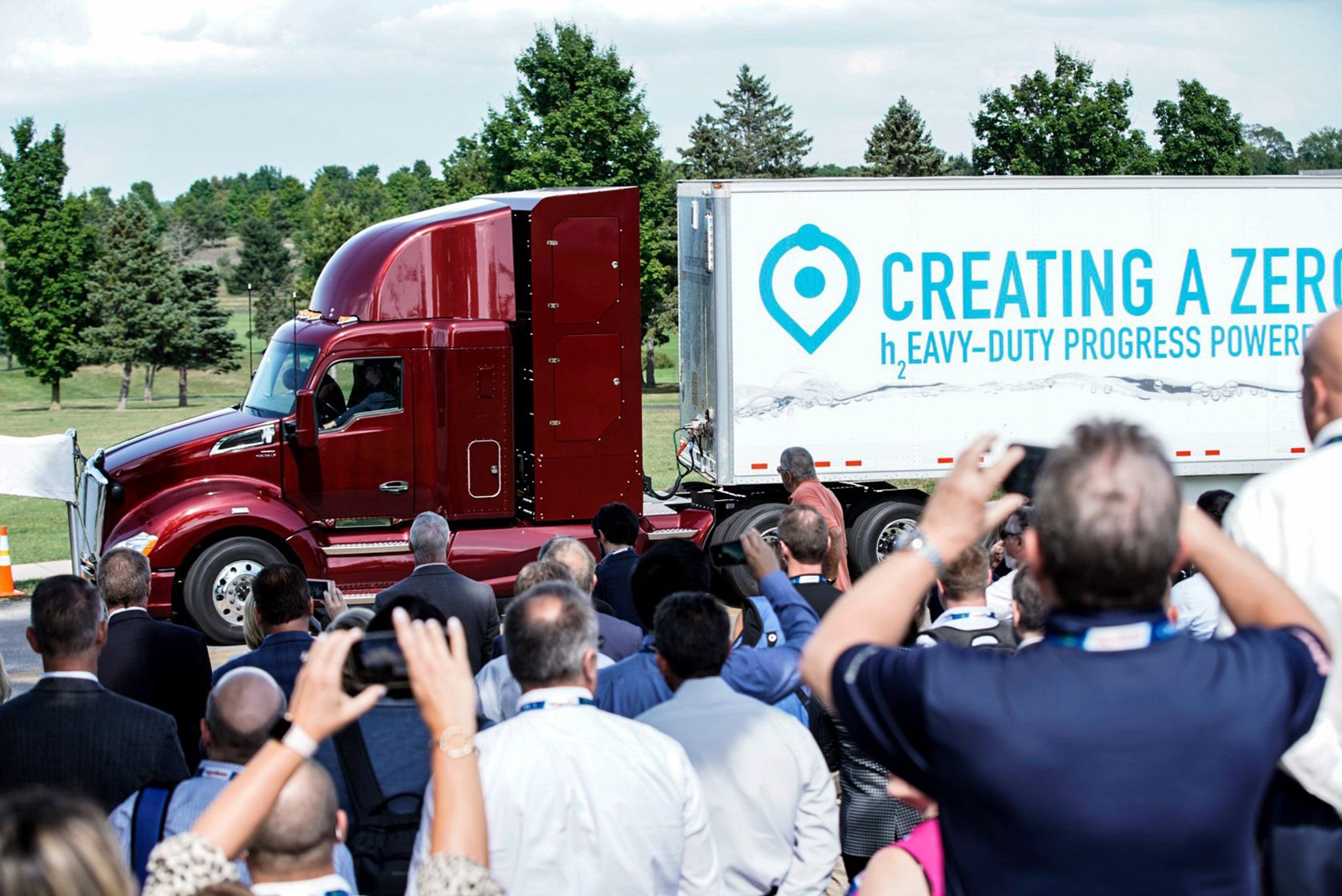 Second Version of Fuel Cell Heavy-duty Truck Reveal