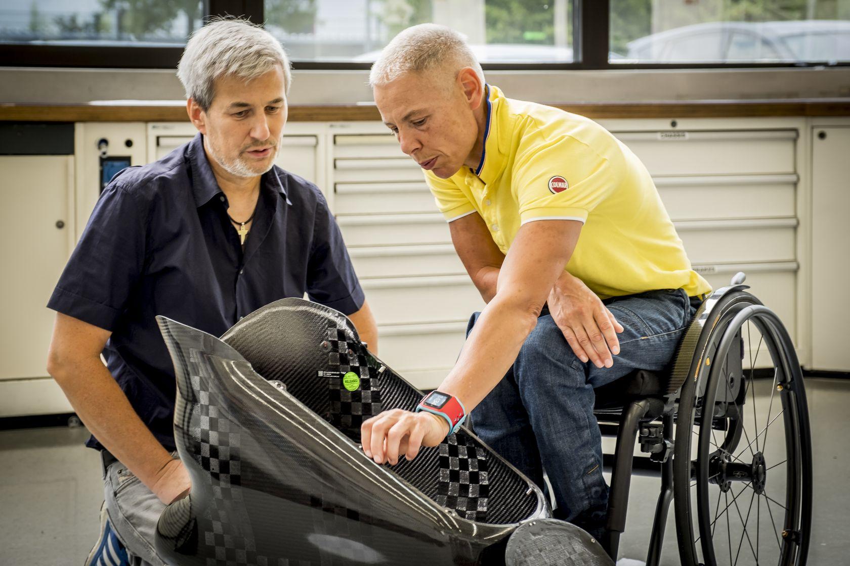 Andrea Eskau paralympique pendant deux ans