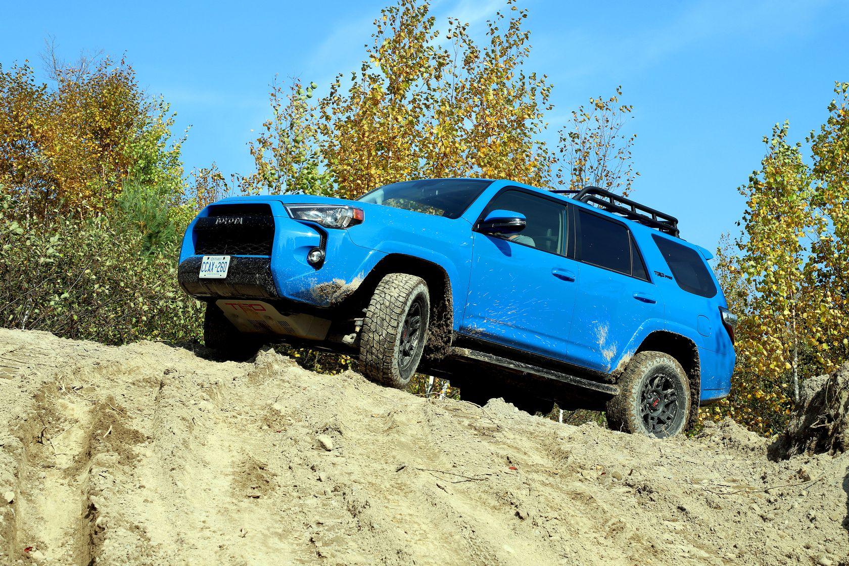 Real Rugged And Ready For Anything The Toyota 4runner Toyota Canada