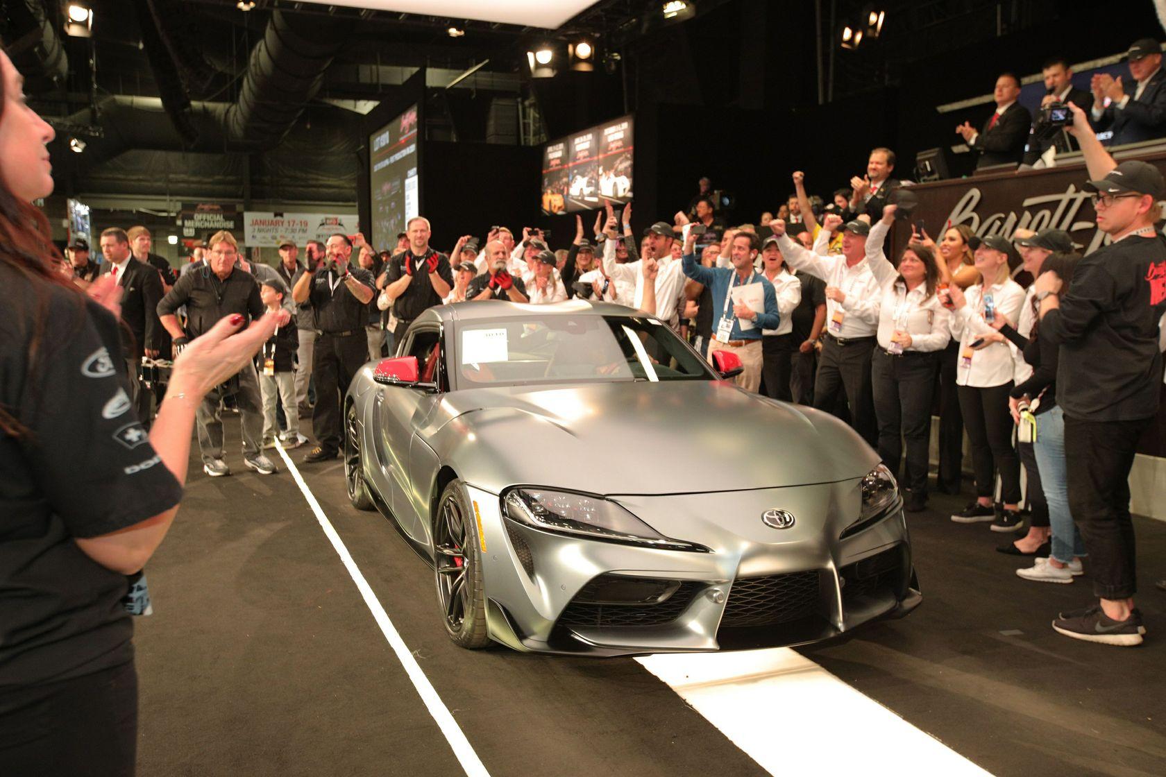 2020 Toyota Supra Auction Barrett Jackson