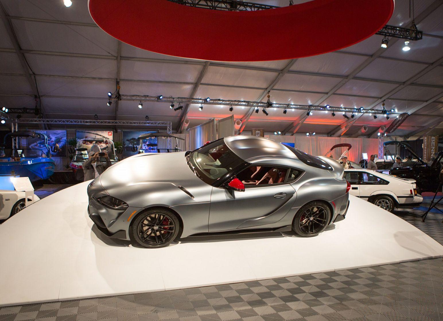 2020 Toyota Supra Barrett Jackson Auction Preview