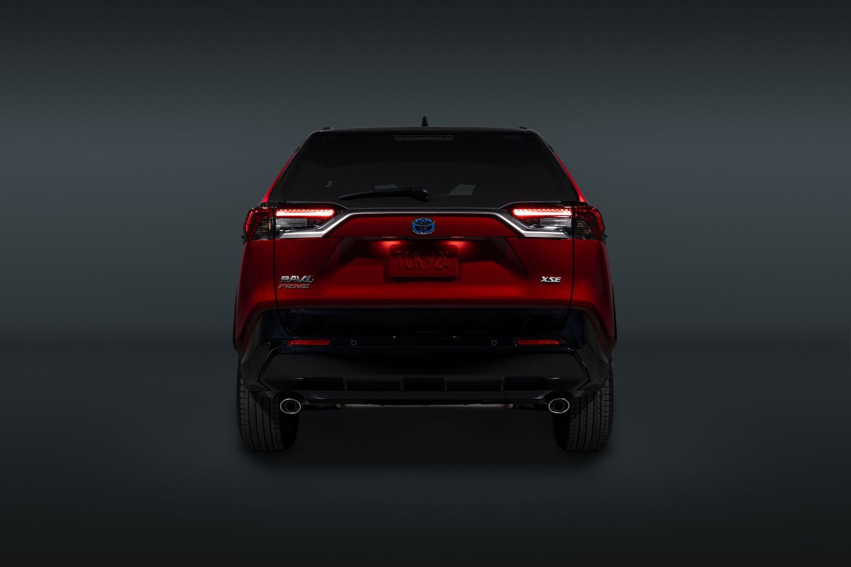 2021 Toyota RAV4 Prime Exterior 12