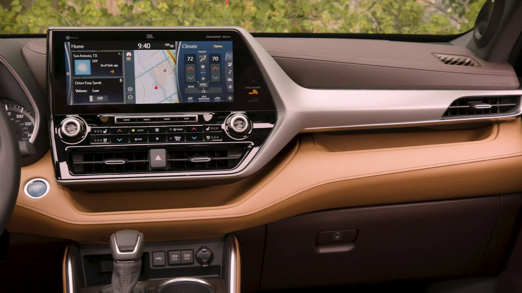 2020 Toyota Highlander Hybrid Platinum AWD Glazed Caramel Interior B-ROLL