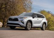 2020 Toyota Highlander Platinum AWD Moon Dust 001