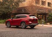 2020 Toyota Highlander Platinum Hybrid AWD Ruby Flare Pearl 005