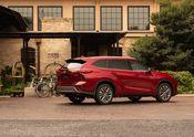 2020 Toyota Highlander Platinum Hybrid AWD Ruby Flare Pearl 007