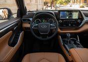 2020 Toyota Highlander Platinum Hybrid AWD Glazed Caramel 005