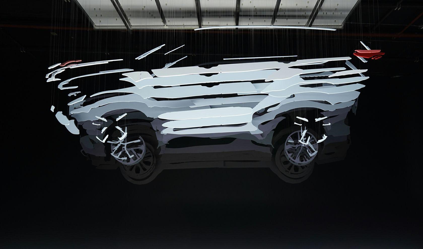 2020 Toyota Highlander Teaser 006