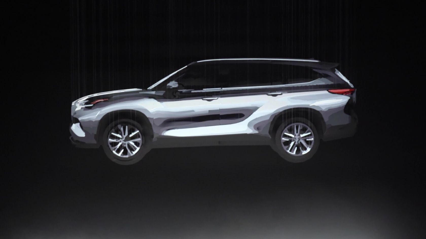 2020 Toyota Highlander Teaser Video