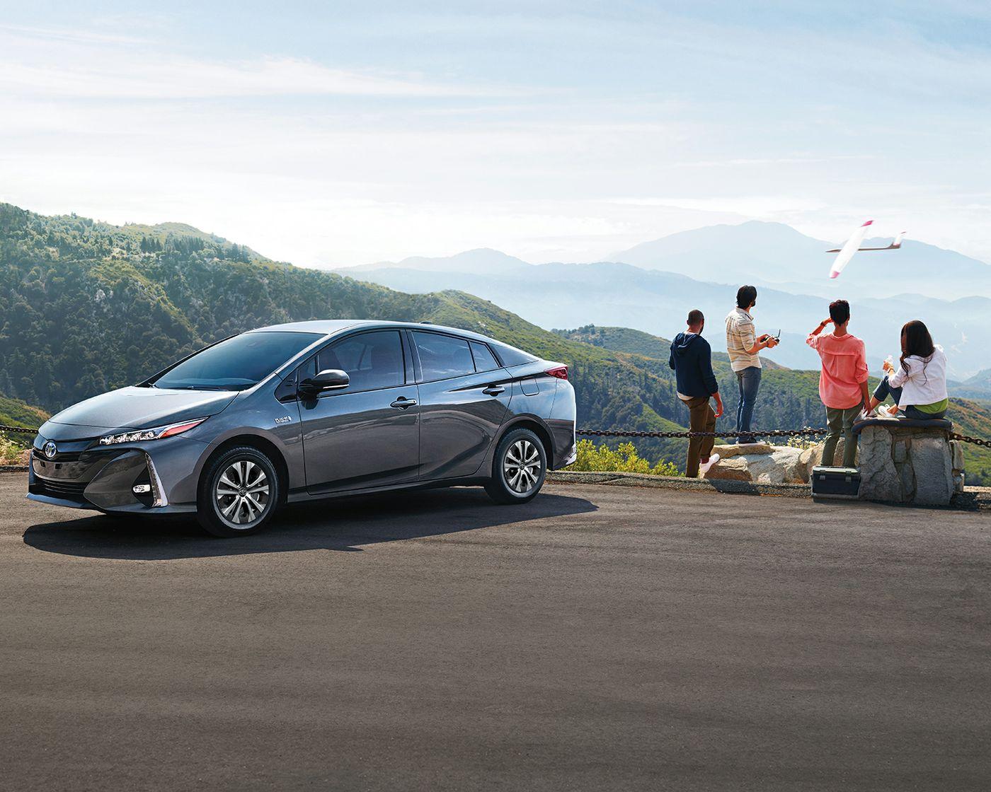 2020 Toyota Prius Prime - Exterior Magnetic Grey Metallic