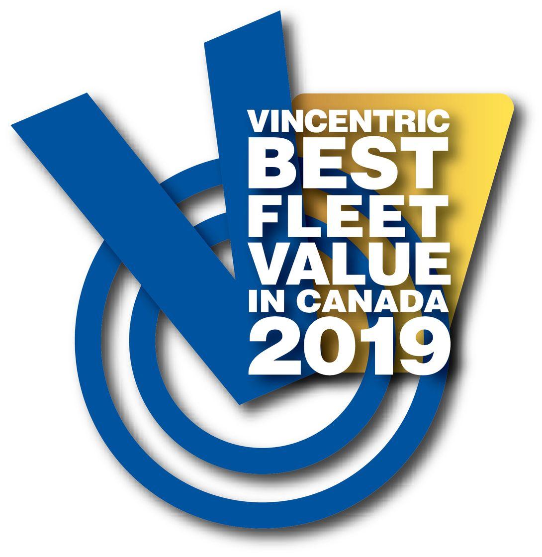 2019 Vincentric Best Fleet Value in Canada