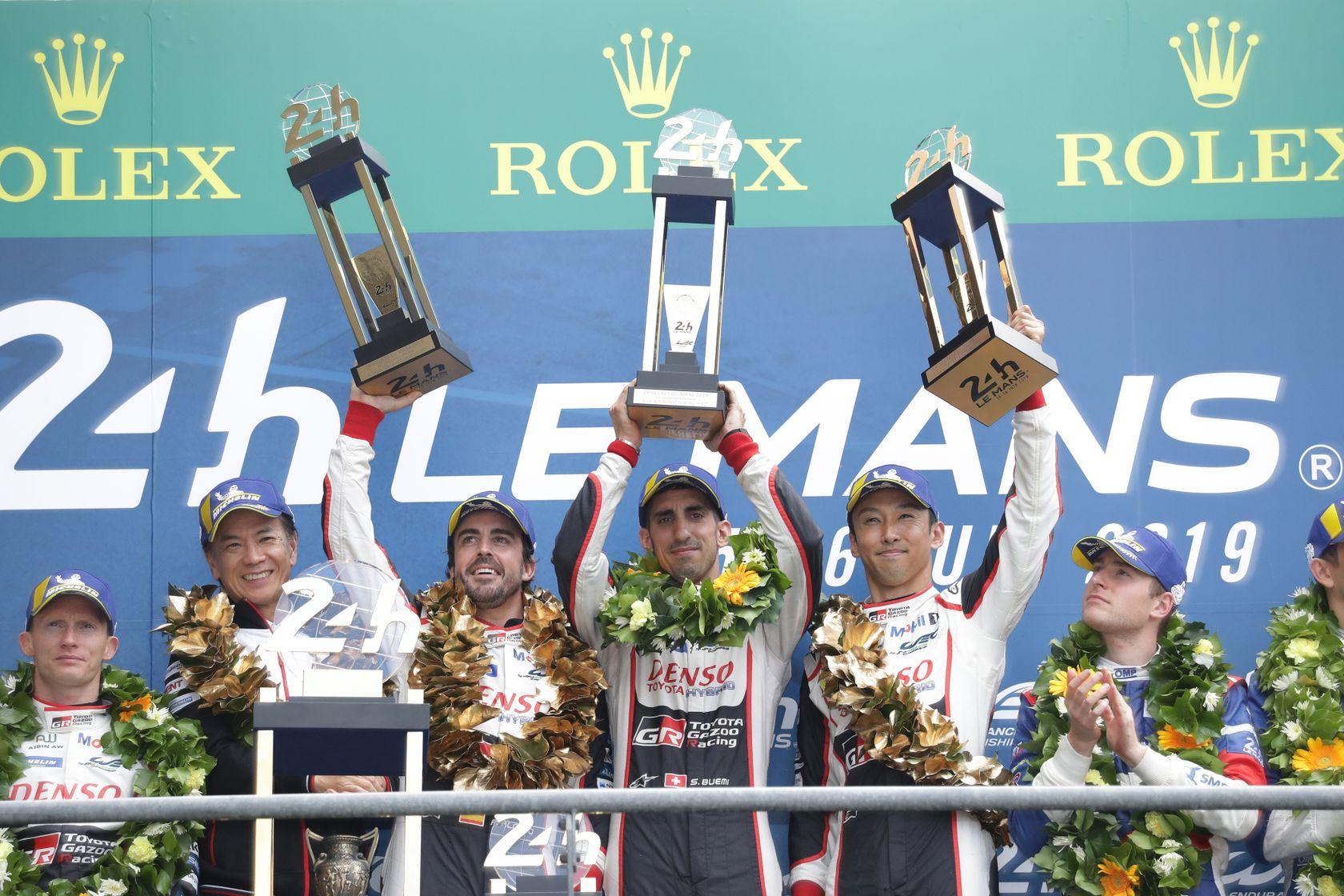 2019 Le Mans GAZOO RACING Toyota Win